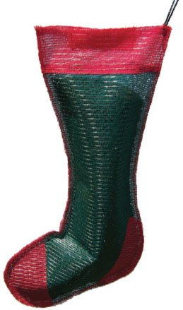 - Songbird Essentials SE657 Green and Red Junior Holiday Thistle Sack (Set of 1)