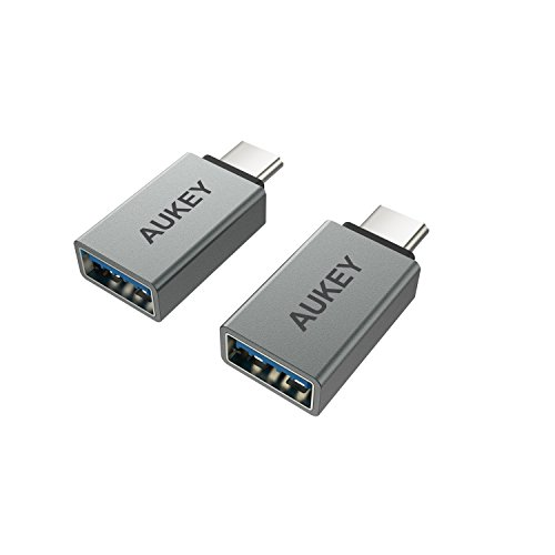 AUKEY USB-C Adapter, Type-C to USB 3.0 Adapter Aluminum  for
