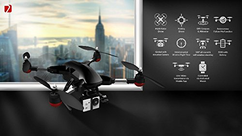 41wVzE-rC4L Hawk4k Folding Drone With 4k Camera and Watch Controller