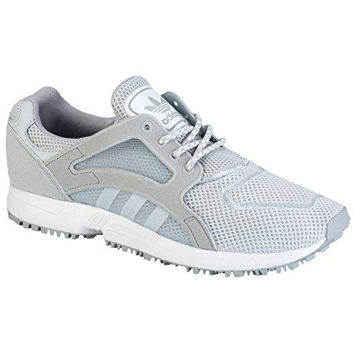 Clonix Racer W White Grey adidas Lite gris claro BURCFq