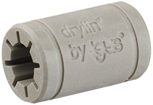 Igus AM-RJ4JP-01-08 Drylin Bearings, Polymer - Replacement for LM8UU, .92