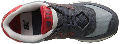 New Balance ML 574 WNB Grey Red, Grey, 40,5 Grey