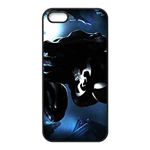 DC spiderman black Phone Case for iPhone 5S Case