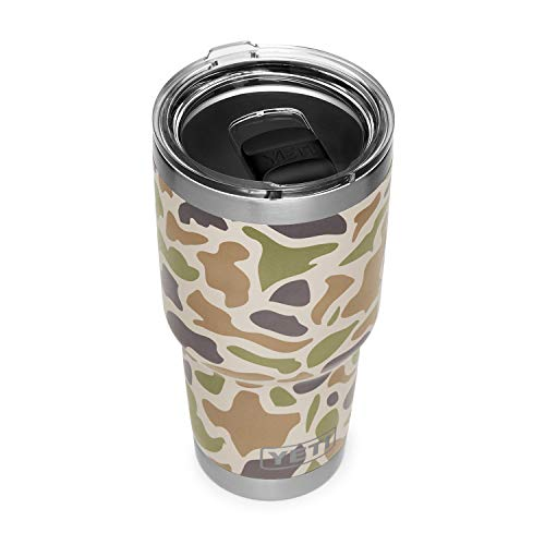 YETI Rambler 30 oz Stainless Steel Vacuum Insulated Tumbler w/MagSlider Lid, Camo ()