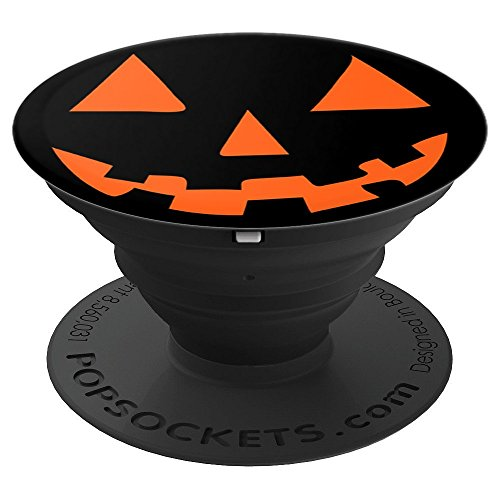 Jack O' Lantern Pumpkin Halloween - PopSockets Grip and Stand for Phones and -