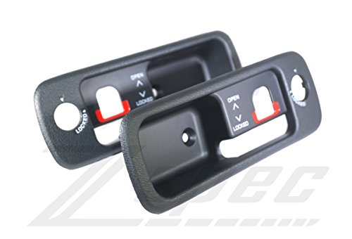 - ZSPEC T-Top Handle Finisher Sets for: USDM Nissan Z32 300zx One Set Charcoal