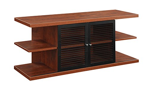 - Convenience Concepts Designs2Go East Hampton TV Stand, Cherry and Black