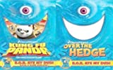 Dreamworks Kung Fu Panda + Over the Hedge / B.O.B. Ate My DVD Double pack
