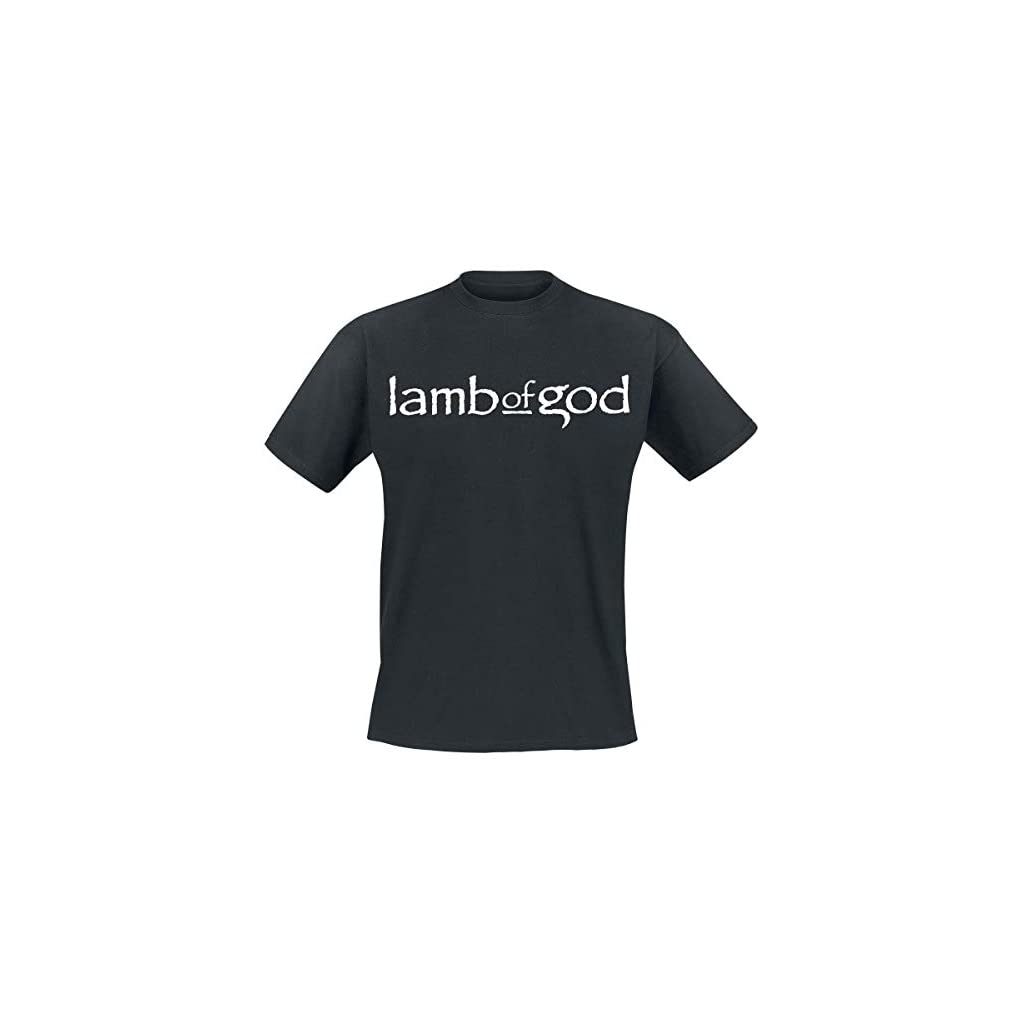 Lamb Of God Straight Logo Camiseta