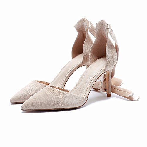 High-Heeled Shoes with Fine Elegant Sexy Goddess Shoes B Ilulg