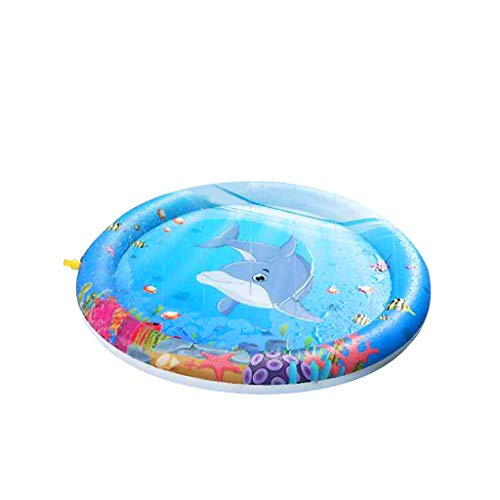 Baby Play Activity Mat Sit Up Floor Seat Tummy Time Water Pad Cool Bed Activity