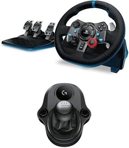 Logitech G29 Driving Force Volante de Carreras + Pedales y Palanca ...