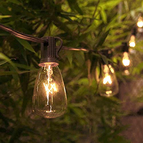 AGICLIGHT  25ft Outdoor Edison Bulb String Lights