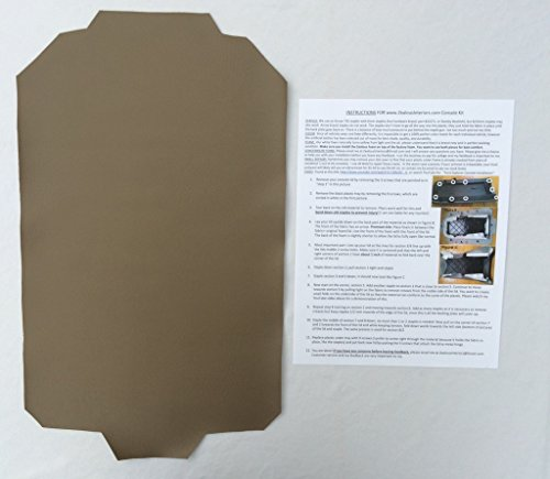 Ford Explorer armrest console replacement cover - Medium Prairie Tan (1997-05)