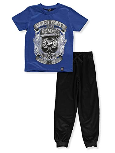 - Phat Farm Big Boys' 2-Piece Pants Set Outfit - Blue, 14