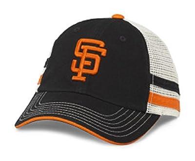 MLB American Needle Foundry Baseball Soft Mesh Back Adjustable Snapback Hat (San Francisco Giants)