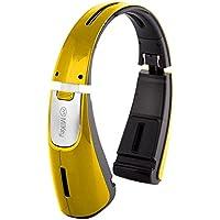 Miikey MiiBeast Yellow  Bluetooth ,NFC Speaker with Bass Booster & Foldable  Design