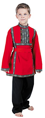 (Russian Boys Traditional Clothing Costume dress)
