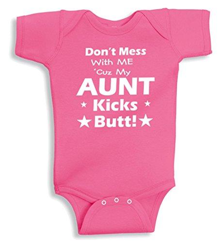 Lil Shirts Aunt Kicks Bodysuit product image