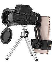 Monoculaire telescoop, Super Clear 50x60 krachtige HD compacte monoculaire met dubbele zoom voor volwassenen en kinderen, waterdicht nachtzichtapparaat Waterdicht, mistvrij voor vogels kijken, reizen