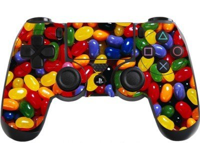 the grafix studio Jelly Beans Playstation 4 (Ps4) Controller Sticker / Skin / Wrap / Ps7 (Ps4 Controller Wrap compare prices)