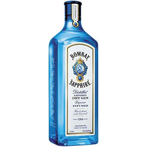 Ginebra Bombay Sapphire Dry Gin 1 75 L: Amazon com mx