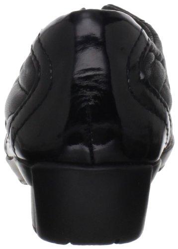 Bella Vita Femme Sigma Slip-on Mocassin Cuir Noir Brevet