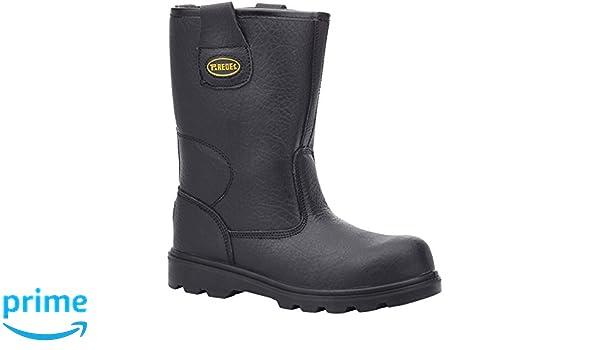 Paredes SP5008 NE45 Wolfram Ii - Zapatos de seguridad S3 talla 45 NEGRO: Amazon.es: Bricolaje y herramientas