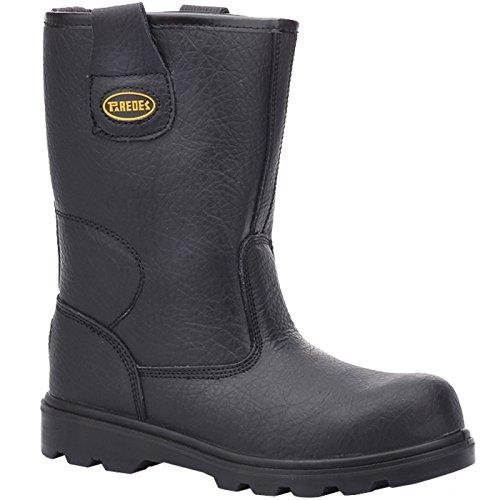 de Taille Wolfram sécurité II Paredes Chaussures NE41 41 S3 Noir SP5008 xqOBZAp