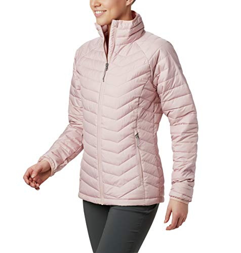 Columbia Women's Powder Lite Jacket, Dusty Pink ,Medium (Womens Columbia Omni Heat Jacket)