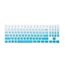 Leze - Ultra Thin Keyboard Cover for 15.6 Inch Lenovo Legion Y720 Y520 Gaming Laptop - Gradual Blue