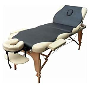 "2"" Pad Full Reiki Folding Portable Massage Table Facial Bed Spa"