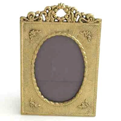 Brass Victorian Frame for a 3
