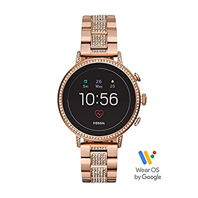 Fossil Women Gen 4 Venture HR Stainless Steel Touchscreen Smartwatch from Fossil