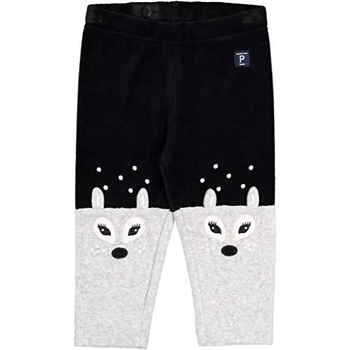 Dot Velour Pant - Polarn O. Pyret DOEFUL DOT Velour Leggings (Baby) - 6-9 Months/Black