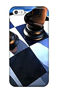 Annie T Crawford Iphone 5/5s Well-designed Hard Case Cover Awesome Miscellaneous Digital Art Chess Protector
