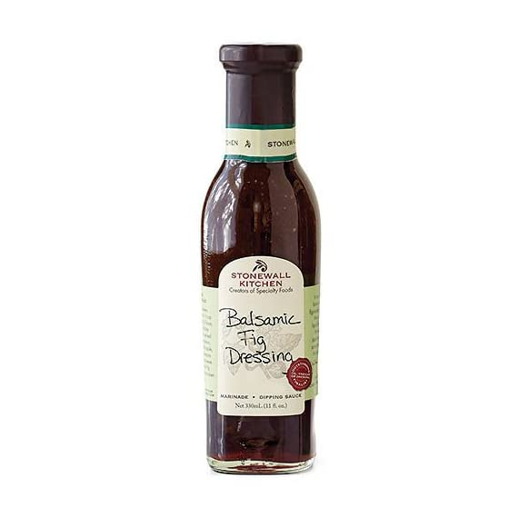 Stonewall Kitchen Dressing, Balsamic Fig, 11 Ounce 1 Stonewall Kitchen Dressing, Classic Greek, 11 Ounce A must for the well-stocked pantry; Convenient and flavorful Includes 1 Stonewall Kitchen Dressing, Classic Greek (11 oz.)