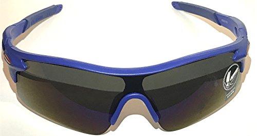 UV400 SUNGLASSES sport golf tennis boating skiing biking cycling auto car beach (blue, dark - Ball Tennis Sunglasses