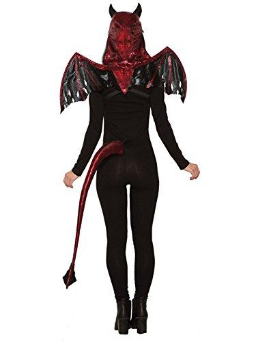 Forum Novelties 81211 Red Devil Wings, Red/Black, Standard, Multicolor ()