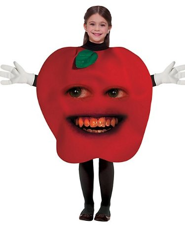 Big Girls' Midget Apple Costume Standard