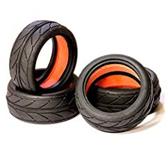 OVERVIEW: If you need to upgrade or replace your RTR touring car tires, try our 25mm width V-radials. Sold in sets of 4 (enough for one vehicle) , the V-radials include molded inserts. Item C23853 Barcode: 91789010299
