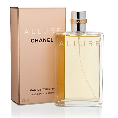 C H A N E L ALLURE EDT SPRAY FOR WOMEN 3.4 OZ -