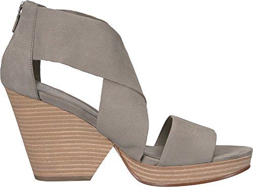 Eileen Fisher Donna Ellis-nu Platform Sandalo In Pelle Martellata Nubuck