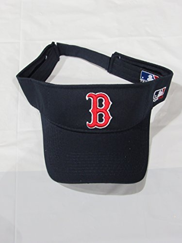 Boston Red Sox VISOR MLB Officially Licensed Adjustable Velcro Visor Cap/Hat Sox Golf