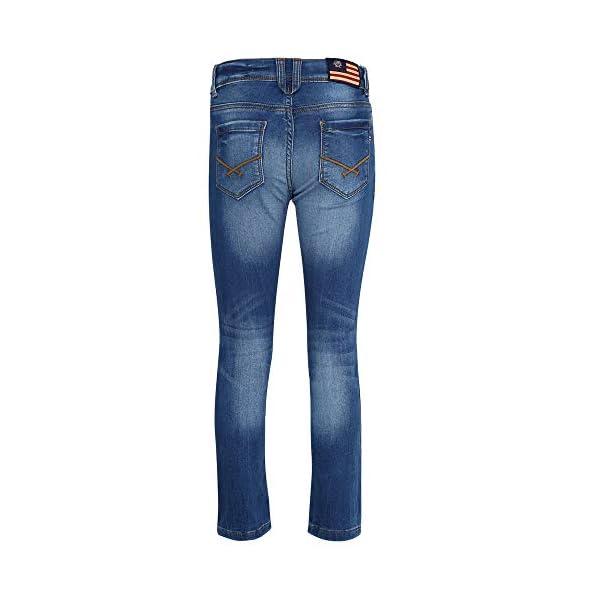 US Polo Association Boy's Slim Jeans 2021 June Care Instructions: Machine Wash Fit Type: Slim Color Name: Dark Blue