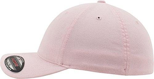 de algodón con béisbol rosa Lavado rosa Gorra Acabado Flexfit Unisex de 1BRcYwqH