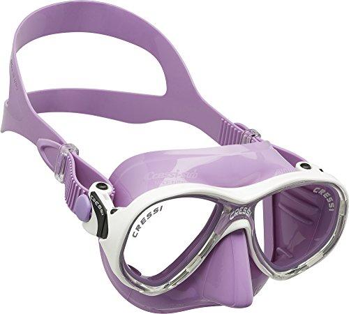 Cressi Sub Goggles - Cressi Marea Jr (Colorama ed.), lilac