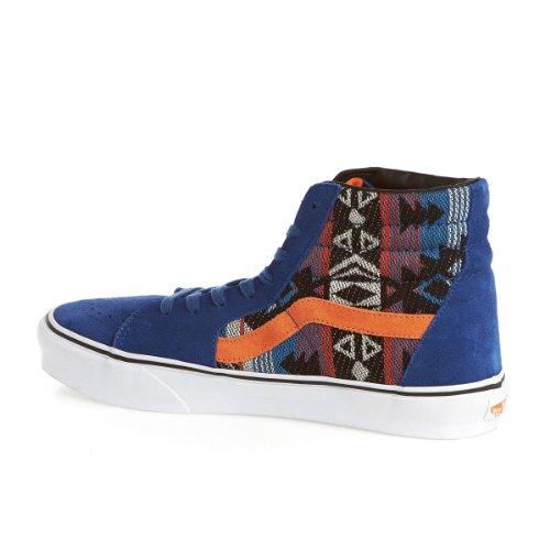 Vans U SK8-HI (SUEDE/INCA) TR - Zapatillas de lona unisex - Blue - Blau ((Suede/Inca) true blue)