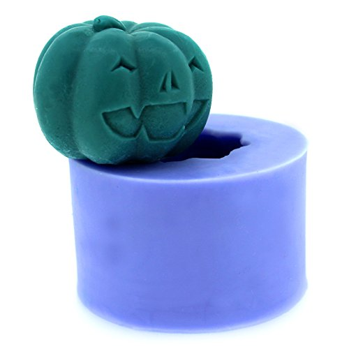 Diyclan silicone molds for cake pudding dessert soap resin polymer clay mold halloween pumpkin candle mould S0022N225[S0022N9] -
