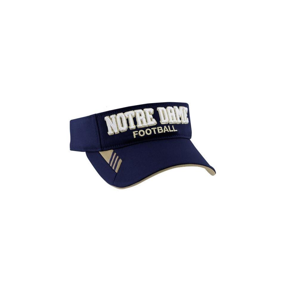 adidas Notre Dame Fighting Irish Navy Blue 2010 Coaches